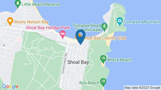 Sundeck Unit 6 - Shoal Bay Map
