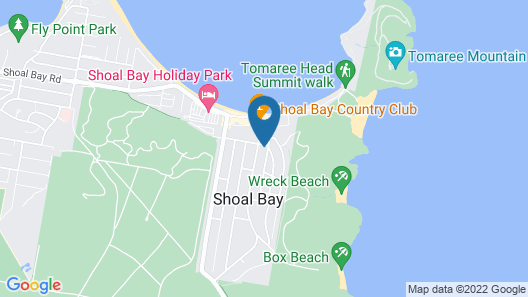 Starfish Lodge, 1/1A Messines Street Map