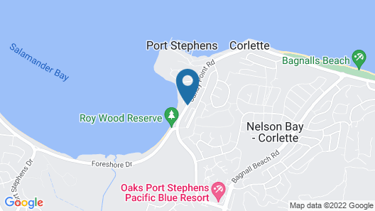Corlette Retreat Map