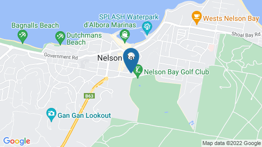 Mantra Nelson Bay Map