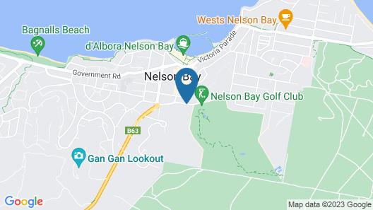 The Landmark Resort Nelson Bay Map