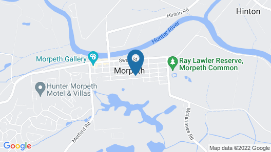 Morpeth Cottage Map