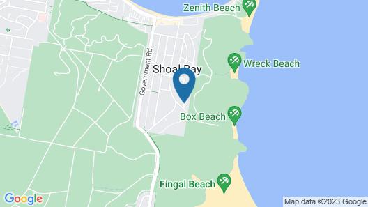 Box Beach Retreat, 29 Essendene Road, Map
