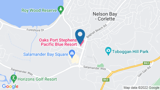 Pacific Blue Apartment 258, 265 Sandy Point Road Map