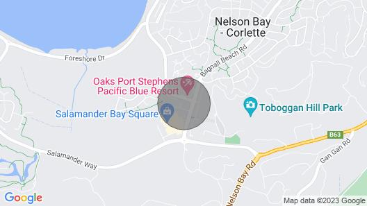 Oaks Pacific Blue,  339/270 Sandy Point Road - HUGE RESORT LAGOON POOL Map