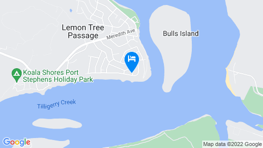 Bayview Water Front Holiday Rental Map