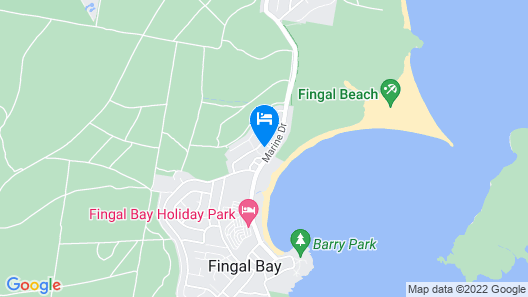 14 The Dunes at Fingal Bay Map