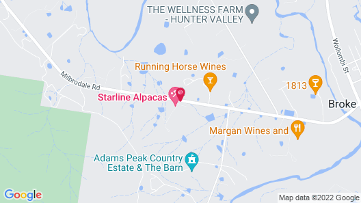 Starline Alpacas Farmstay Resort Map