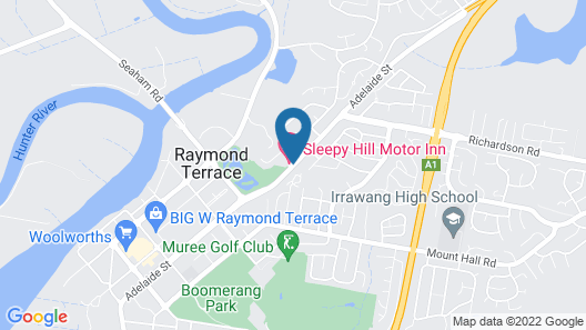 Sleepy Hill Motor Inn Map