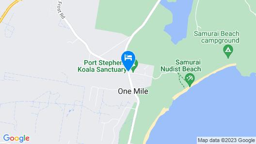 Port Stephens Koala Sanctuary Map