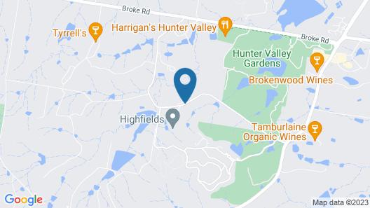 Wine Country Villas Map
