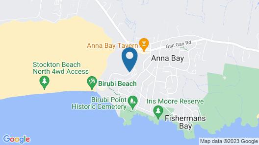 Gateway Lifestyle Birubi Beach Map