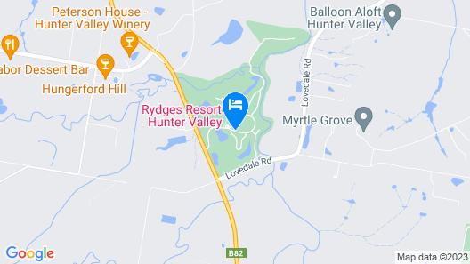 Crowne Plaza Hunter Valley, an IHG Hotel Map