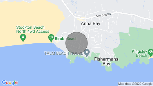 Birubi Beach House, 14 Campbell Avenue - Fantastic House and Close to the Surf Beach Map