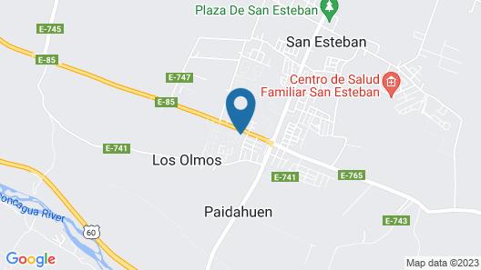 Hotel San Esteban Map