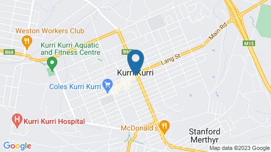 Chelmsford Hotel Kurri Kurri Map