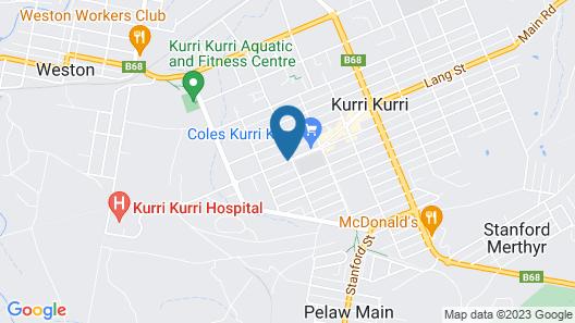 Kurri Motor Inn Map