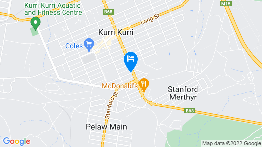 Station Hotel Motel Kurri Kurri Map