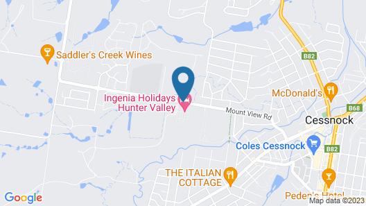 Ingenia Holidays Hunter Valley Map