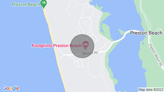 Beach Shack Preston Beach Resort - Heated Pool - Foxtel - 500m TO Beach Map
