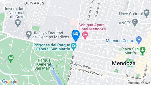 Juana Banana Hotel Boutique Map