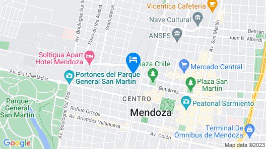 Condor Suites Apart Hotel Map