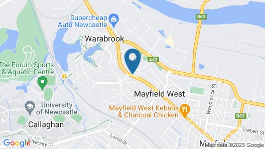 Mayfield Motel Map