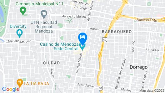 Hotel Ariosto Map