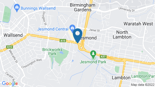 Jesmond Executive Villas Map