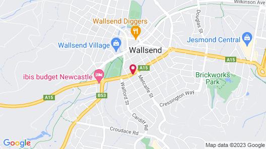 Wallsend Executive Apartments Map