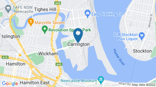 Carrington Place Map