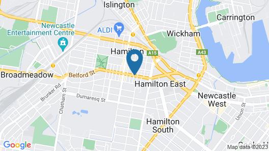 Cosmopolitan Apartments Map