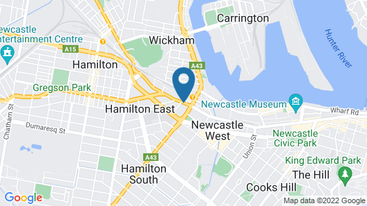Quest Newcastle West Map