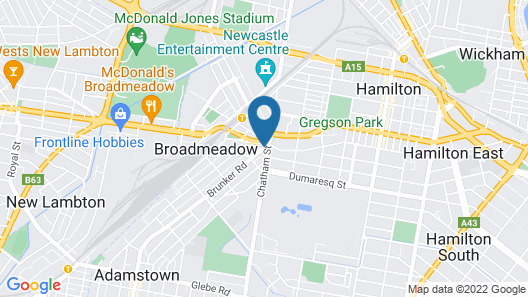 The Premier Hotel Map
