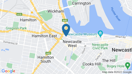 Newcastle Central Plaza Map