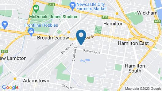Hamilton on Everton Map