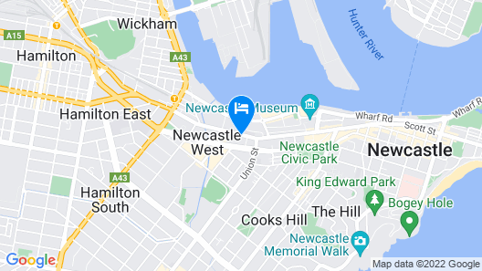 Quest Newcastle Map