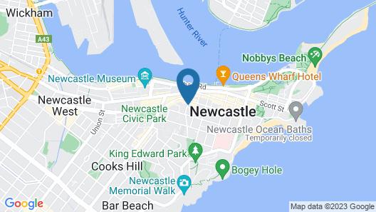 UNIQUE - New York Loft Style Townhouse Map