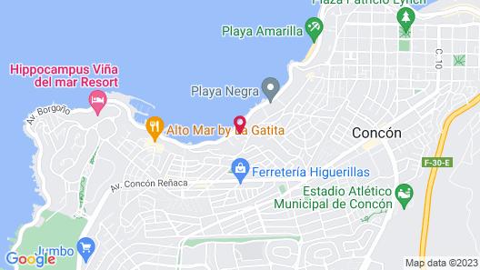 Casadoca Hotel Boutique Map