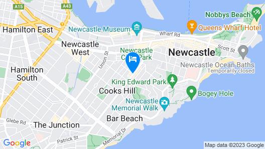 Delany Hotel Map
