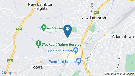 Best Western Blackbutt Inn Map