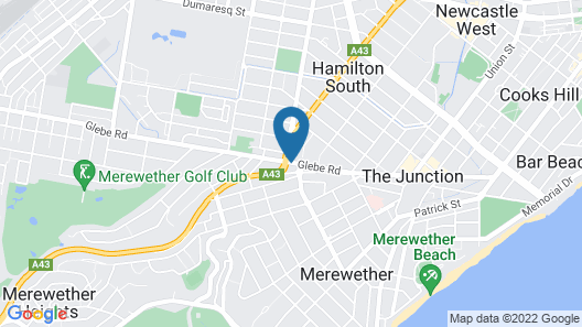 Merewether Motel Map