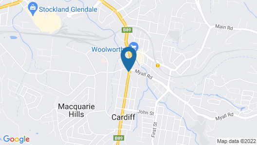 Cardiff Executive Apartments Map