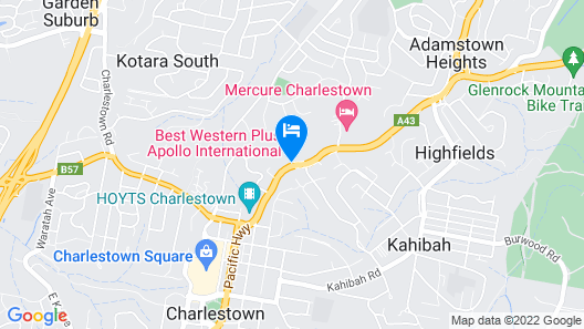 Best Western Plus Apollo International Hotel Map