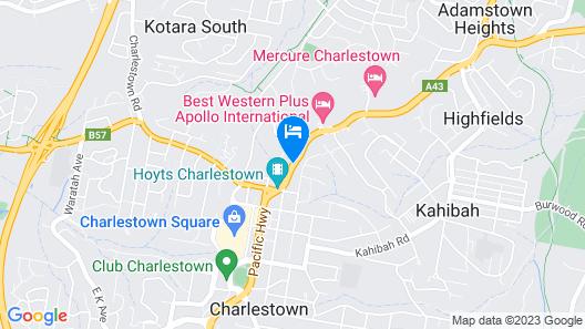 Panorama Motor Inn Map