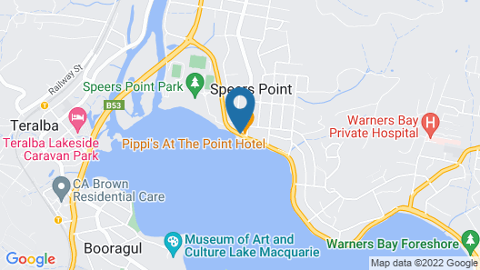 Pippi's At The Point Map