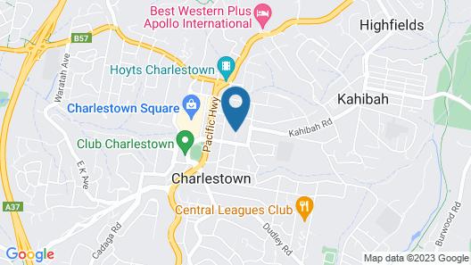 Charlestown Executive Apartments Map
