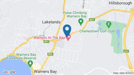 Warners At The Bay Map