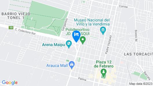 Esplendor by Wyndham Mendoza Map
