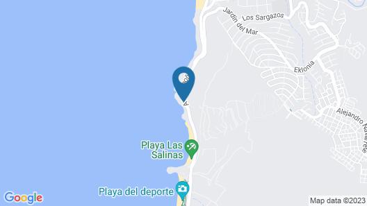 Hotel Oceanic Map